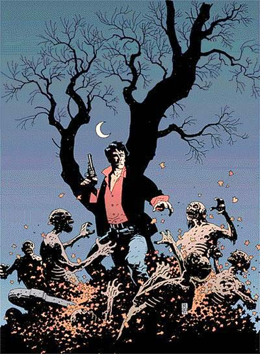 Dylan Dog por Mike Mignola